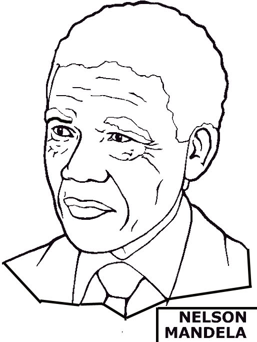 black american coloring pages - photo#5