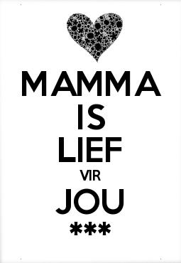 Mamma lief