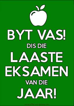 eksamen-groen