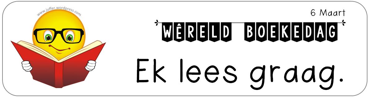 Boekedag Boekmerk wit
